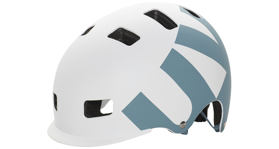 UVEX Helmet 5 bike pro hjelm hvid/petroleumsgrøn